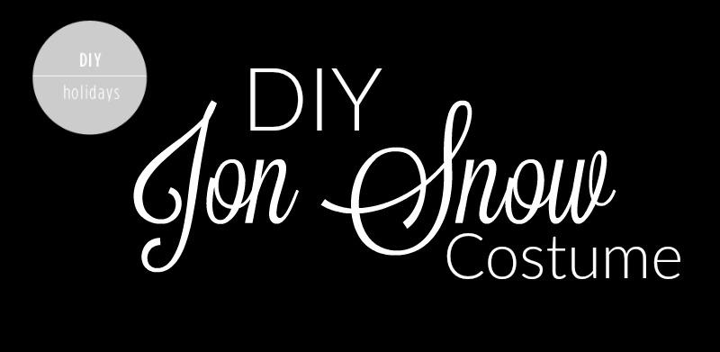 DIY Jon Snow Costume - Feature