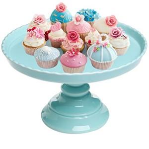 115-Round-Scalloped-Rim-Ceramic-Cake-Dessert-Pedestal-Display-Stand-MyGift-0