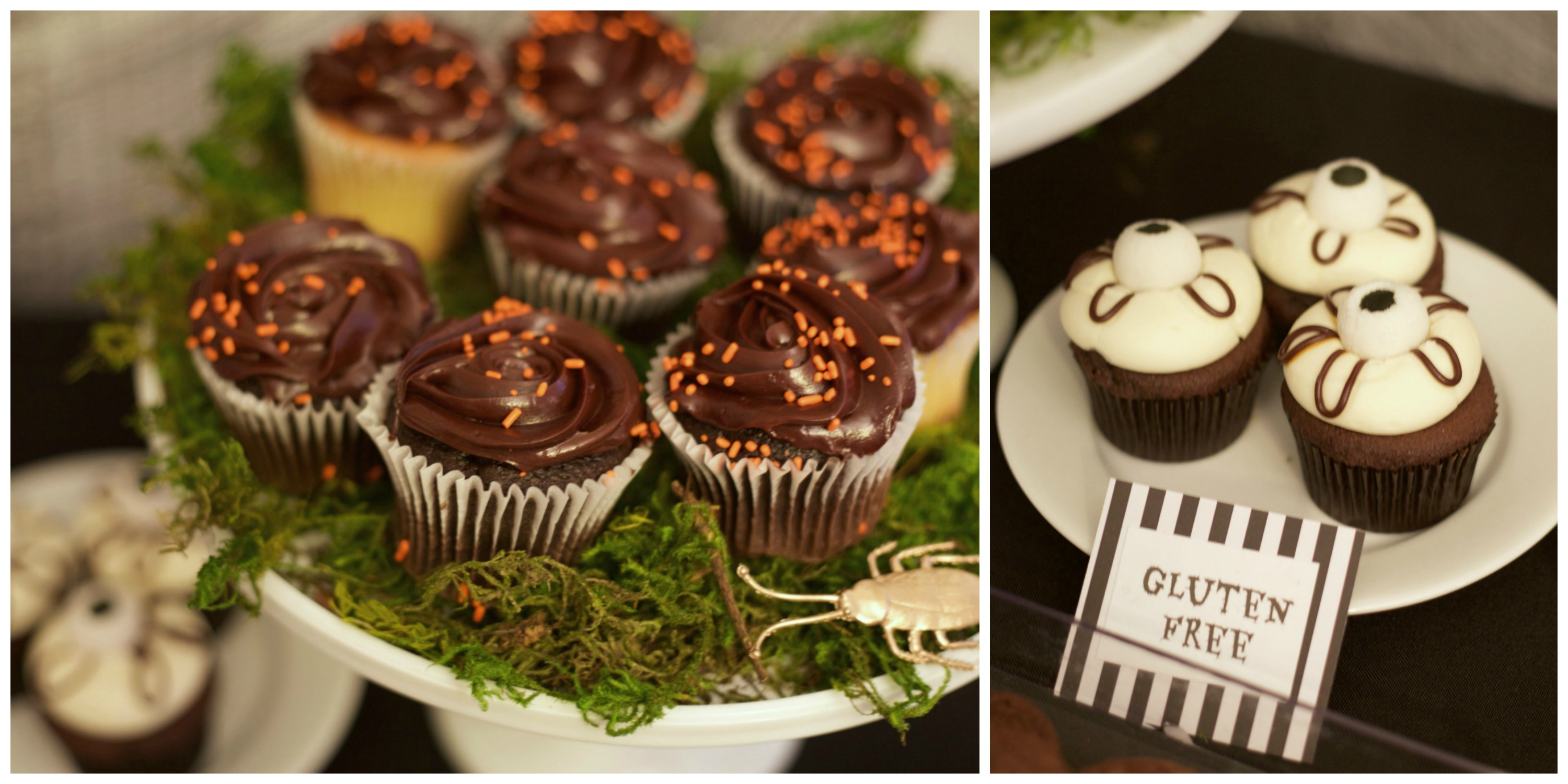 Beetlejuice Halloween Party | PartiesforPennies.com |Cupcakes