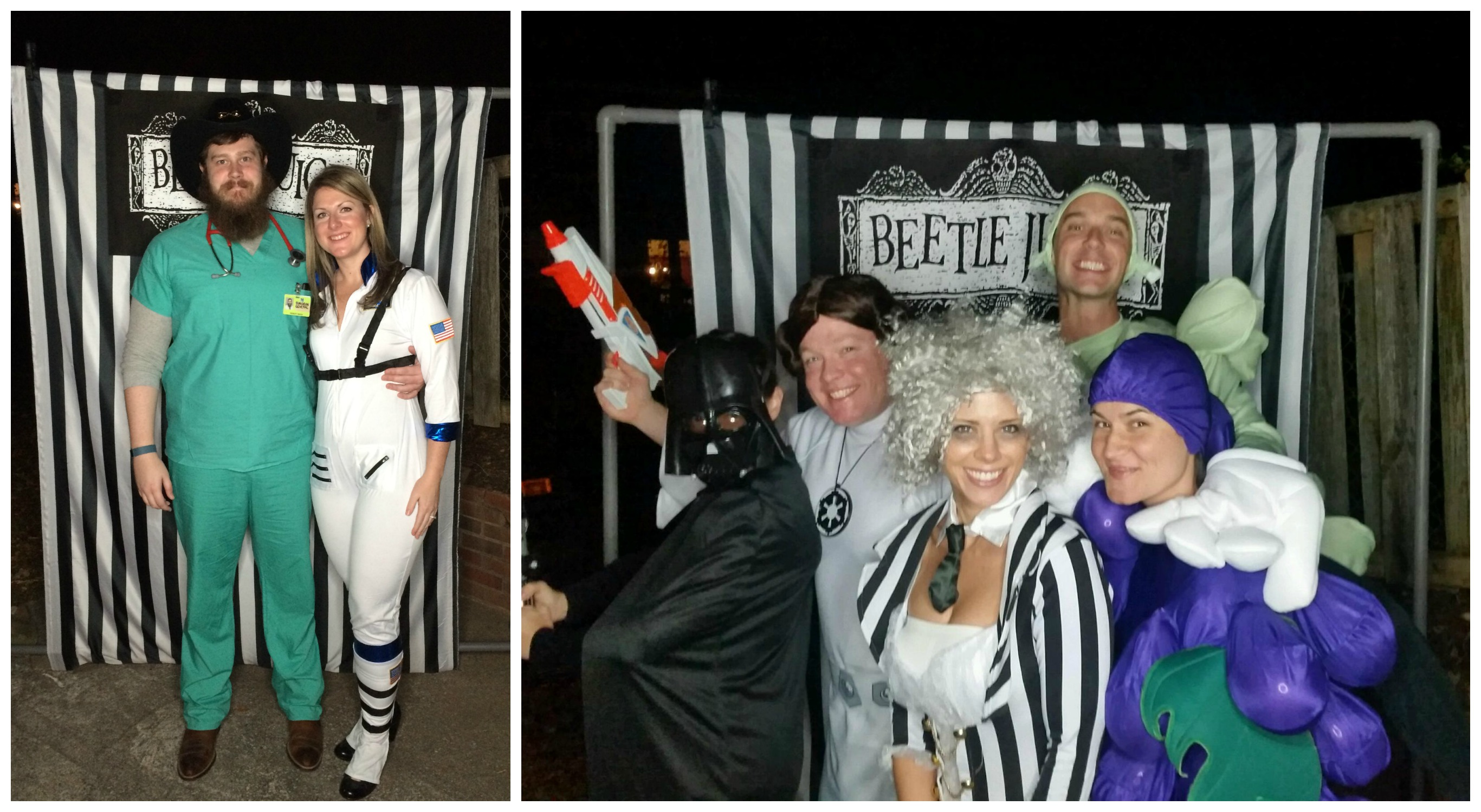 Beetlejuice Halloween Party - Guest Collage 2