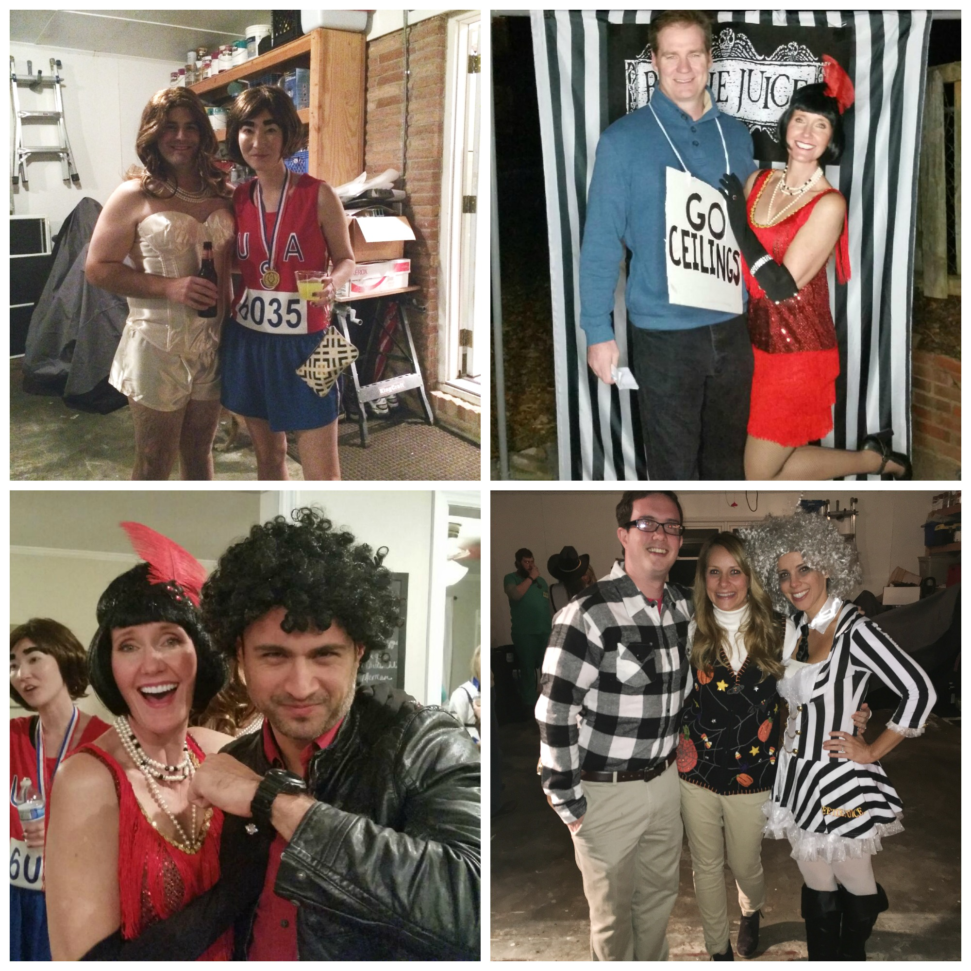 Beetlejuice Halloween Party - Guest Collage 4