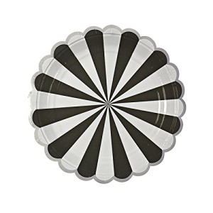 Meri-Meri-Toot-Sweet-Black-Stripe-Large-Plates-0