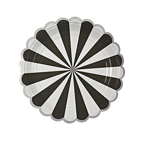 Meri-Meri-Toot-Sweet-Black-Stripe-Large-Plates-0
