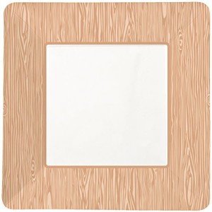 Party-Partners-Design-12-Count-Square-Paper-Party-Plates-Wood-Grain-0