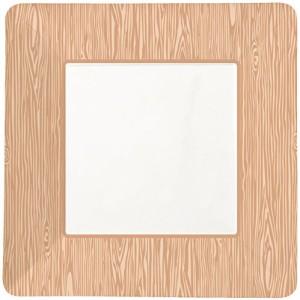 Party-Partners-Design-12-Count-Square-Paper-Party-Plates-Wood-Grain-0
