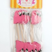Party-Partners-Design-Flamingo-Tall-Decorative-Food-Picks-Pink-12-Count-0-0