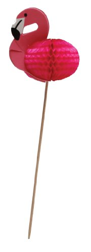 Party-Partners-Design-Flamingo-Tall-Decorative-Food-Picks-Pink-12-Count-0
