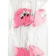 Party-Partners-Design-Pink-Flamingo-Decorative-Cocktail-Drinking-Straws-Pink-12-Count-0-0