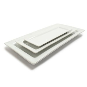Sur-La-Table-Blanc-Rectangular-Platters-59909-SET-Set-of-3-0