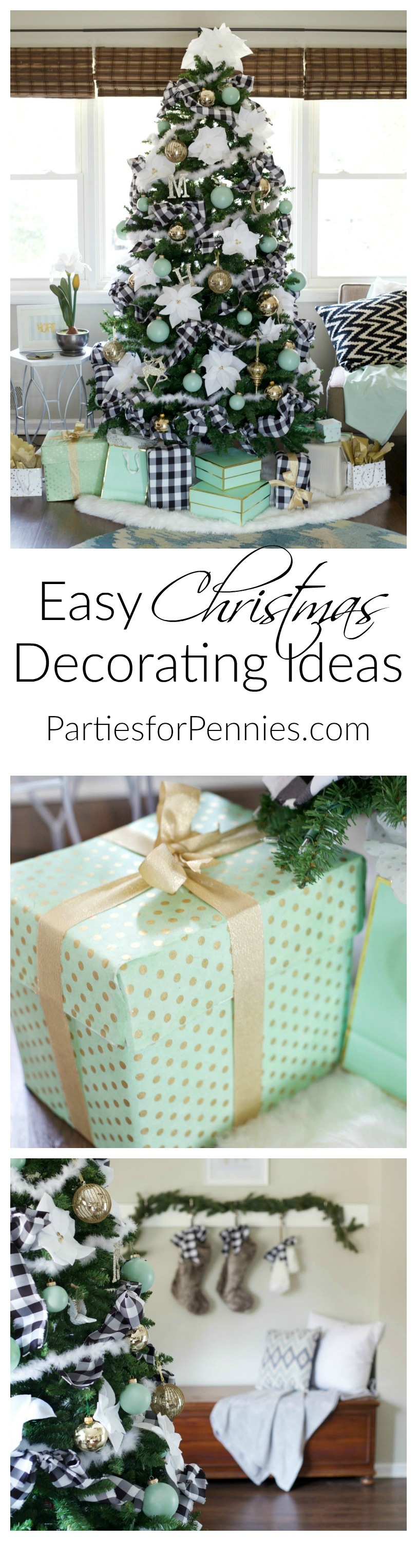 Easy Christmas Decorating Ideas | Budget Friendly