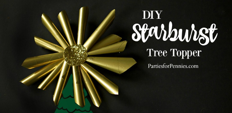 DIY Starburst Tree Topper Feature