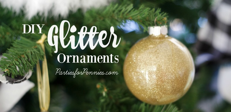 Glitter Ornament DIY - Feature