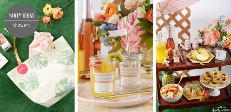 Pineapples and Palms Bridal Shower - Feature