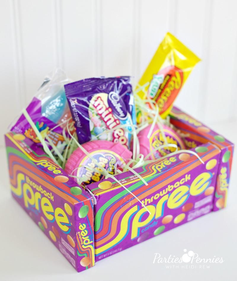 DIY Edible Easter Basket by PartiesforPennies.com | Make a fun & totally edible Easter basket!