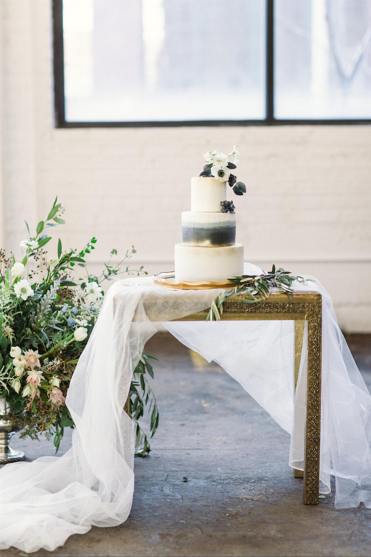 Feminine Wedding Inspiration by A Charming Fete | PartiesforPennies.com | Wedding Cake, Dessert