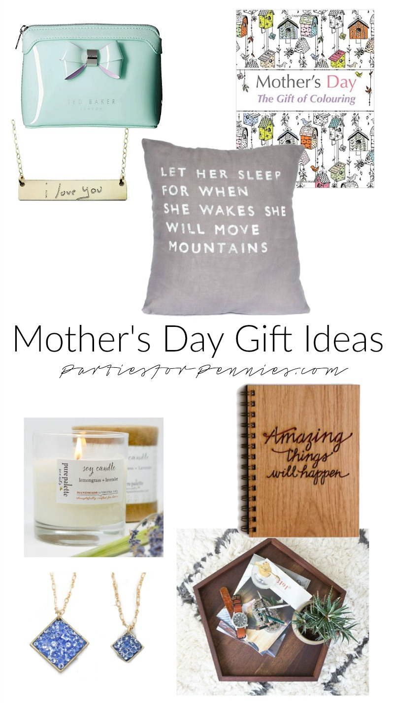 5 Unique Mother's Day Ideas | PartiesforPennies.com | Mother's Day Gift Ideas, Gift Idea