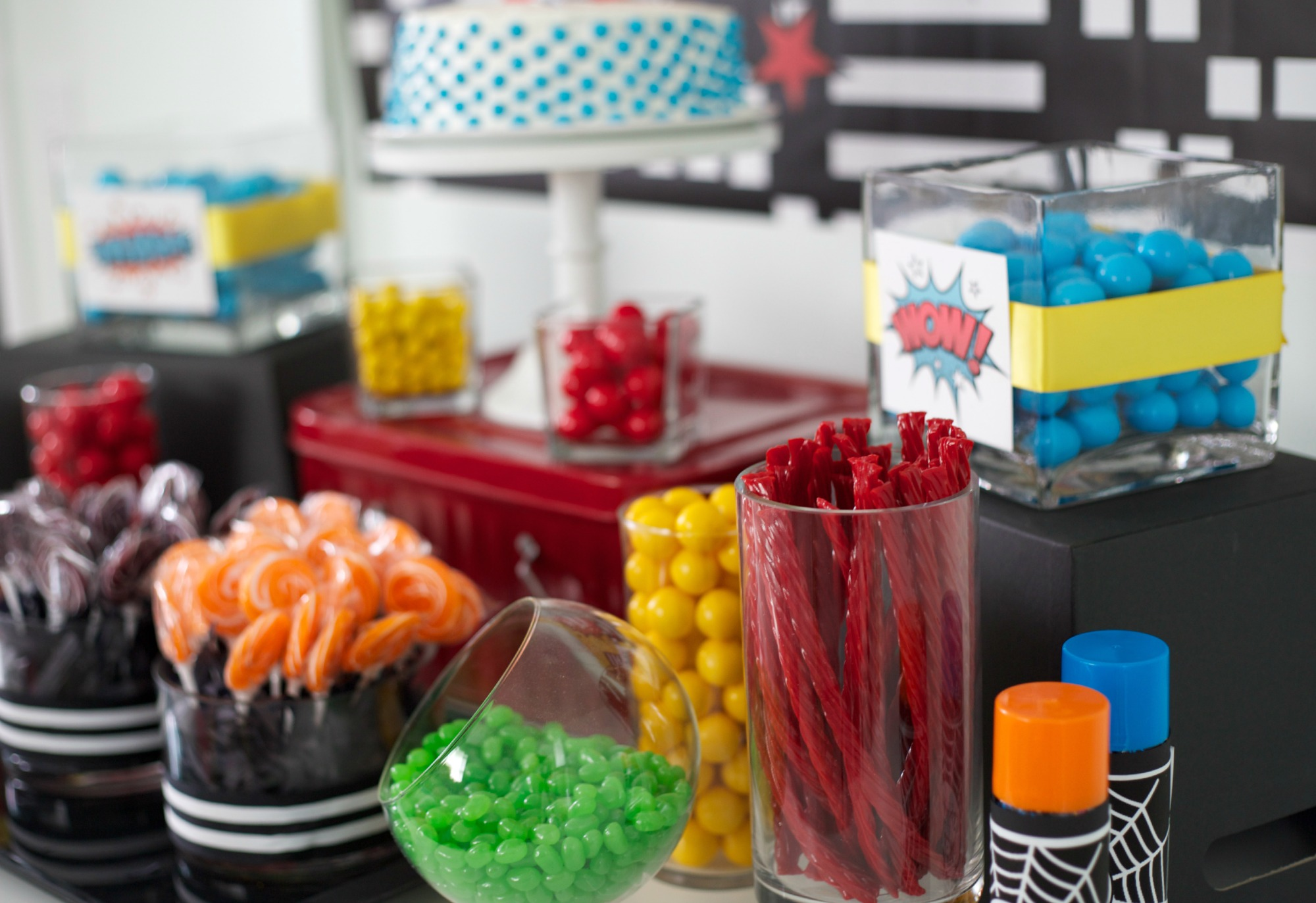 Super Hero Party - Candy