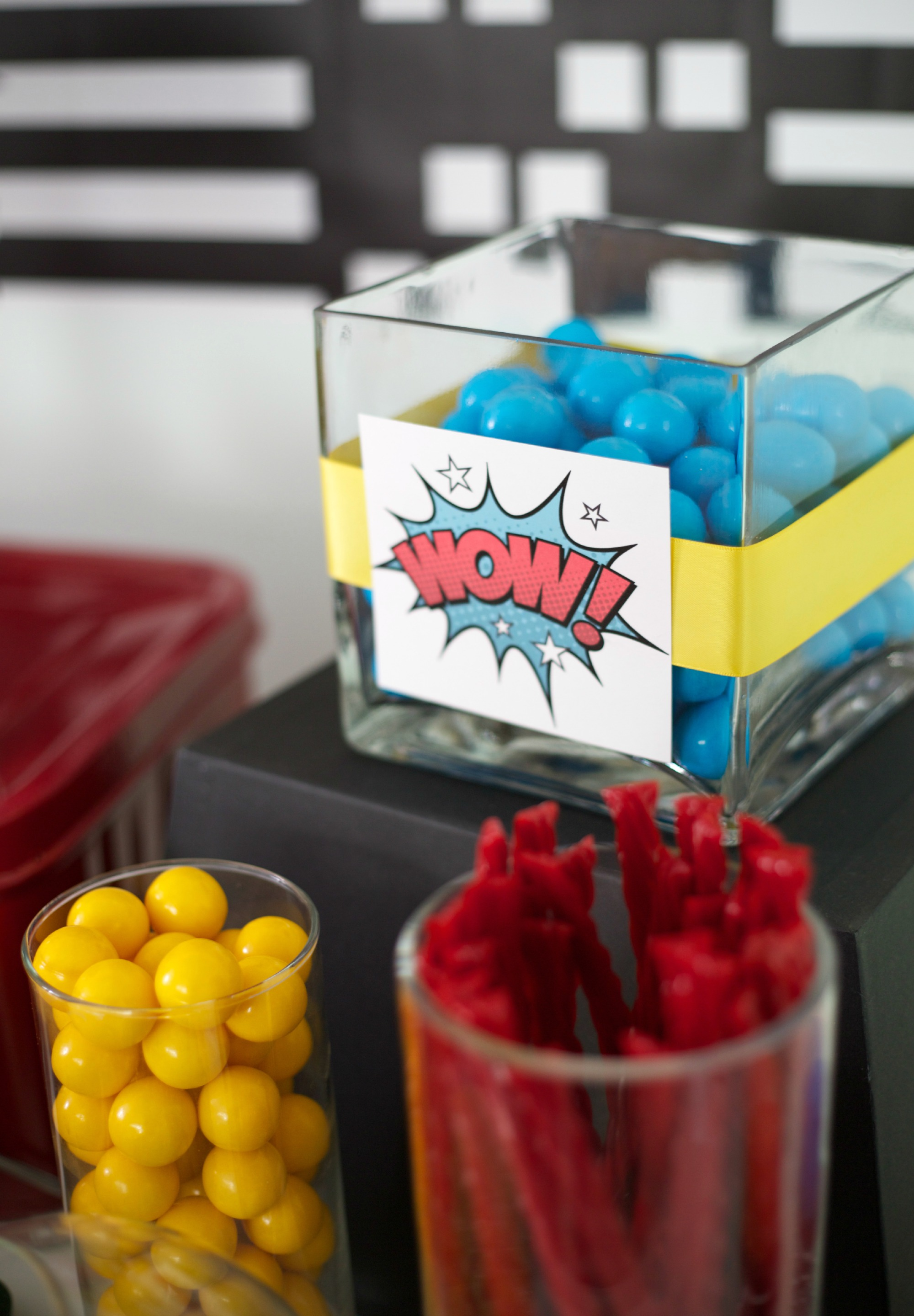 Super Hero Party - Wow Candy