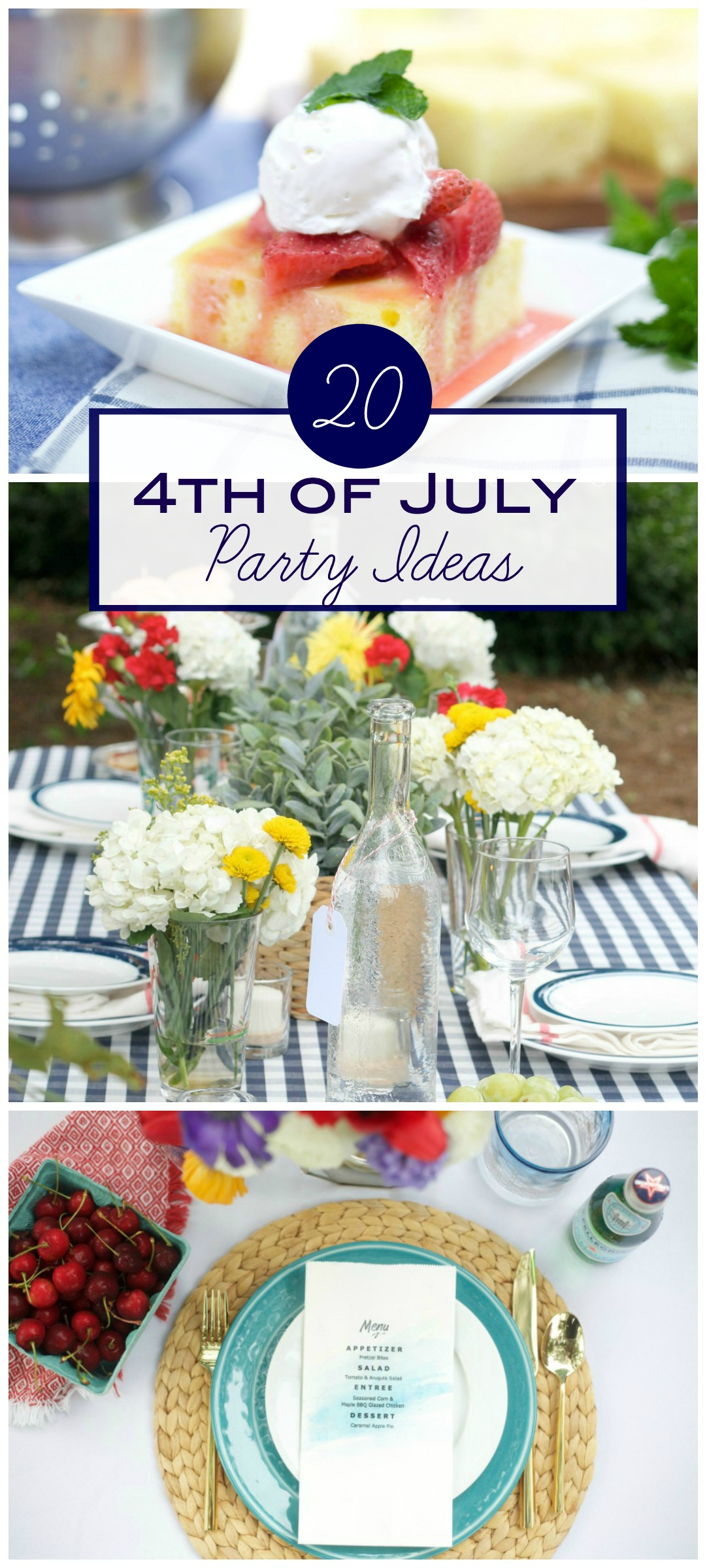 4th of July Party Ideas by PartiesforPennies.com