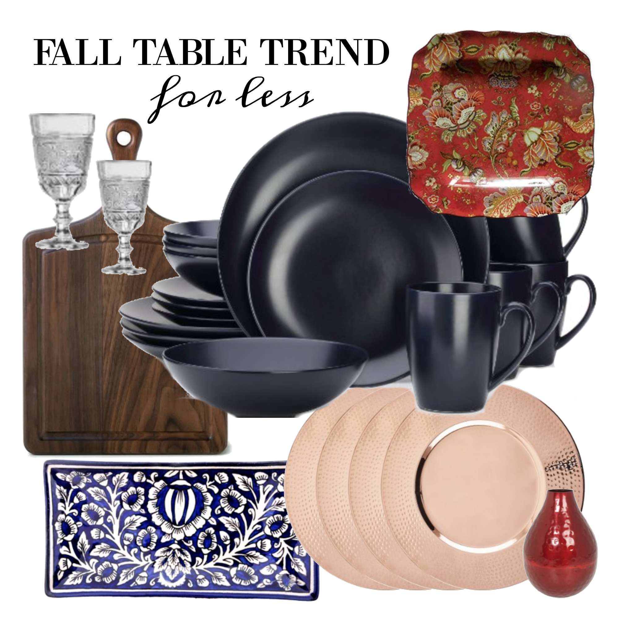 Fall Table Trend for Less - Main