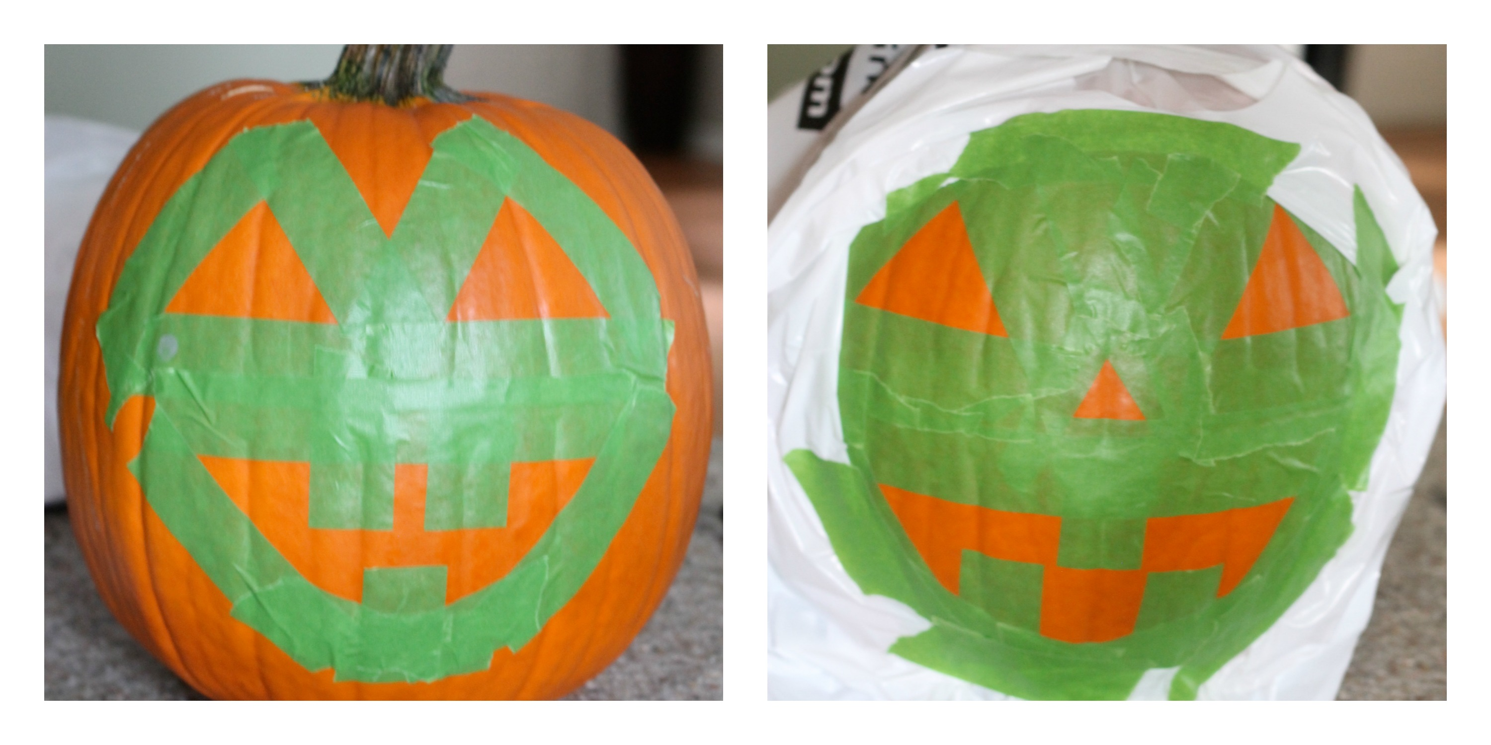 Glow in the Dark Jack-o-Lanterns by PartiesforPennies.com | Halloween, Thanksgiving, Fall, Pumpkins, Jack O Lanterns