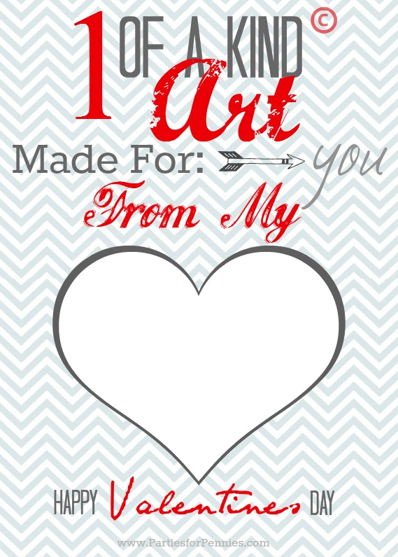 photograph about Printable Valentine Card for Teacher named Valentines Working day Card Printable - Functions for Pennies