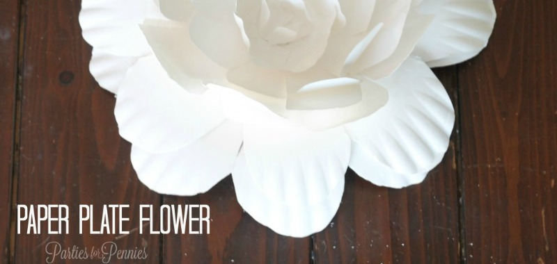 How To Create A Flower From A Paper Plate Parties For Pennies
