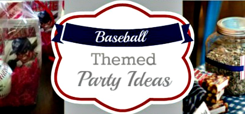 Baseball Themed Party Ideas Parties For Pennies