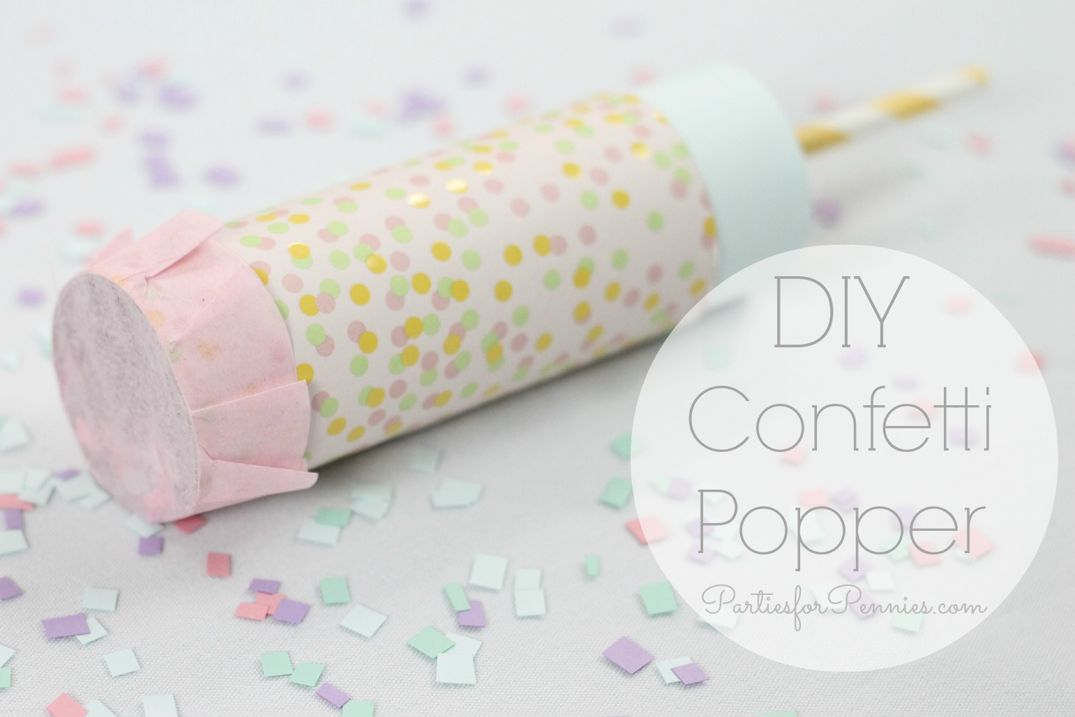Confetti Popper Parties For Pennies