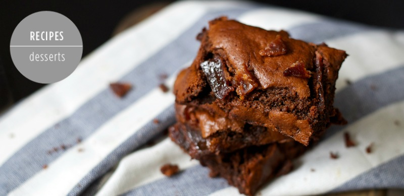 Gluten Free Paleo Bacon Brownie Recipe