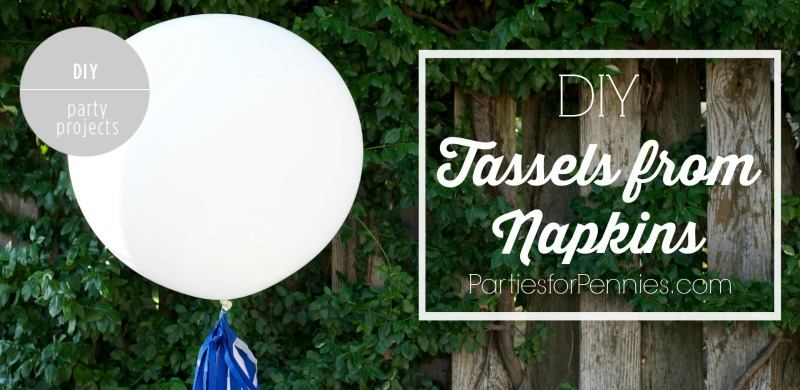 DIY Party Tassels