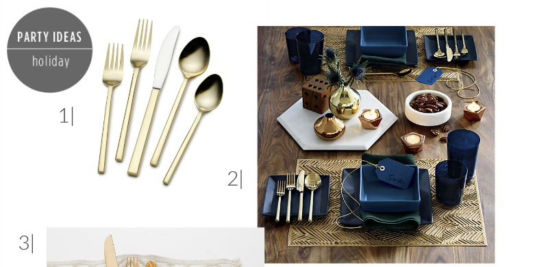 Best Price for Gold Flatware | PartiesforPennies.com | Love Gold Flatware but hate the price? Find the best price and deals on gold flatware anywhere!