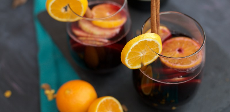 Mulled Wine Sangria Recipe by PartiesforPennies.com | Reunite Wine | Drink Recipe | Christmas Cocktail | Holiday Drink