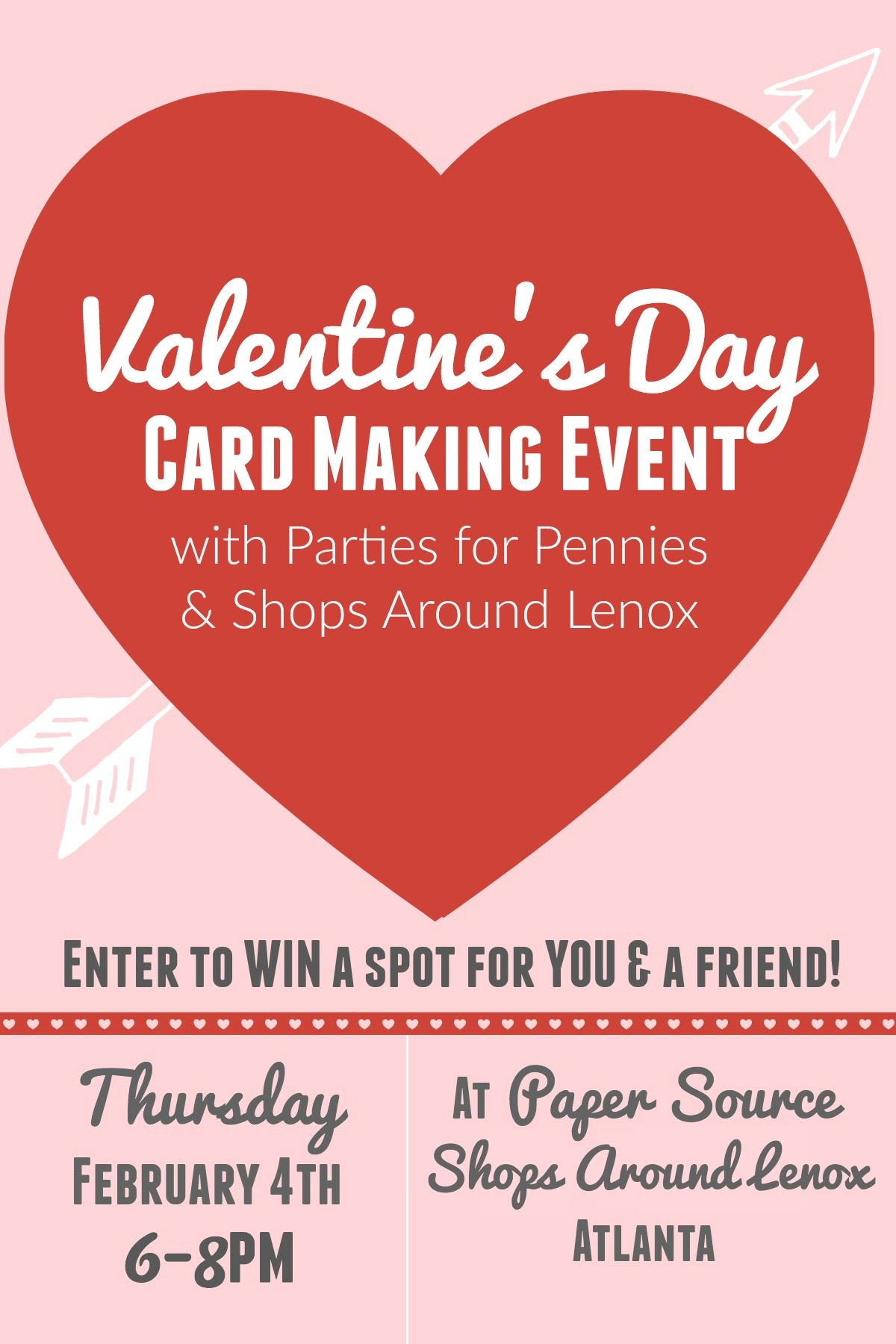 Valentine S Day Event Promo Parties For Pennies