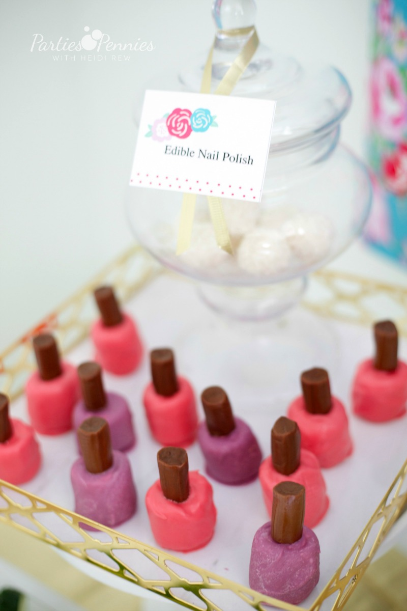 Girls Birthday Party Idea Spa Party Parties For Pennies