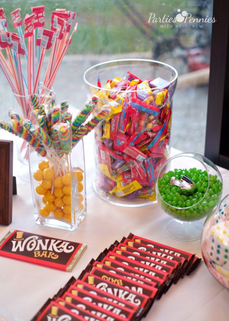 Halloween Theme Party.Willy Wonka Halloween Party Parties For Pennies