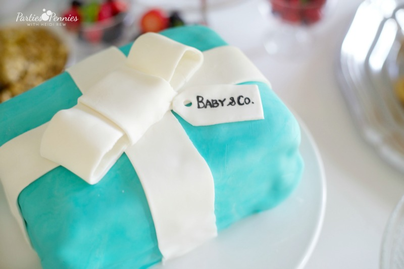 Breakfast at Tiffanys, Cake, tiffany box cake, fondant