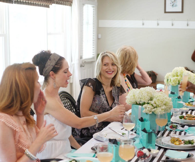 Breakfast at Tiffany's Baby Shower, Guests